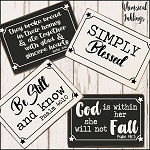Simply Blessed SVG Bundle