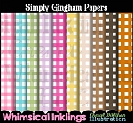 Simply Gingham Paper