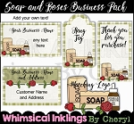 Soap and Roses Business Pack