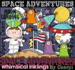 Space Adventures Clipart Collection