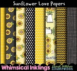 Sunflower Love Papers
