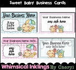 Sweet Baby Business Cards