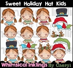 Sweet Holiday Hat Kids RESELLERS LIMITED SET