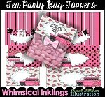 Tea Party Bag Toppers