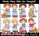 Tennis Shoe Kids Go Camping RESELLERS LIMITED SET