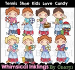 Tennis Shoe Kids Love Candy RESELLERS LIMITED SET