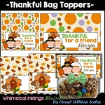 Thankful Bag Toppers