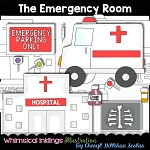 The Emergency Room Clipart Collection
