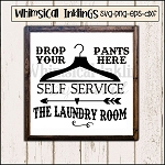 The Laundry Room Self Service SVG Cutter File