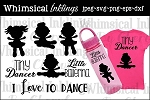 Tiny Dancer SVG Set