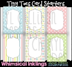 Tiny Toes Greeting Cards