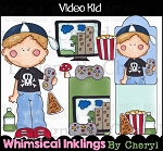 Video Kid Clipart Collection