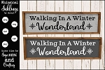 A Winter Wonderland SVG