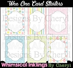 Wee Ones Card Starters