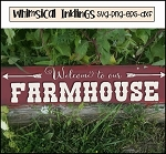 Welcome To Our Farmhouse SVG Cutter File