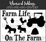Whimsical Farm Life SVG Files