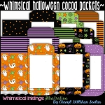 Whimsical Halloween Cocoa/Cider Packet Starter