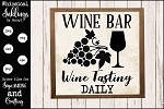 Wine Bar SVG