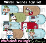 Winter Wishes Tag Set