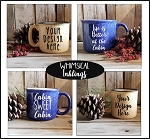 Woodland Coffee Mugs Mock Up Collection