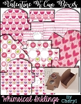 Valentine K Cup Boxes~ Mix and Match