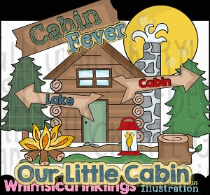 Cabin Fever Clipart Collection
