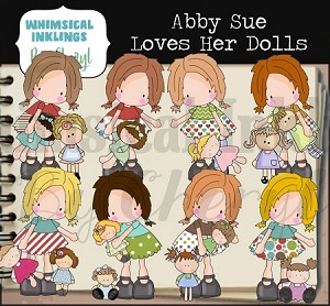 Abby Sue Loves Dolls RESELLERS LIMITED SET