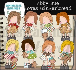 Abby Sue Loves Gingerbread RESELLERS LIMITED SET