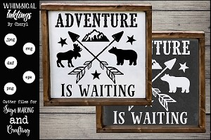 Adventure Is Waiting SVG