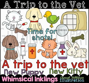 A Trip To The Vet Clipart Collection