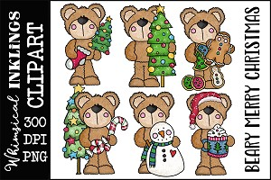 Beary Merry Christmas RESELLERS-LIMITED SET