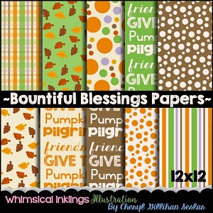 Bountiful Blessings Paper