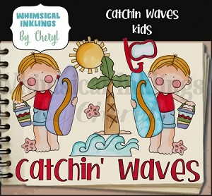 Catchin Waves Kids RESELLERS LIMITED SET