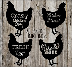 Crazy Chicken Lady SVG Mini Bundle