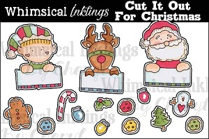 Cut It Out For Christmas RESELLERS LIMITED SET