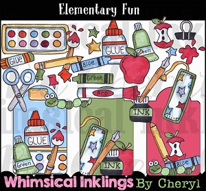 Elementary Fun Clipart Collection
