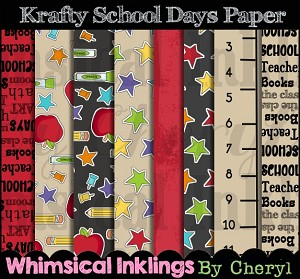Krafty School Days Paper