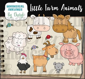Little Farm Animals RESELLERS LIMITED SET