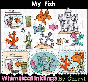 My Fish Clipart Collection