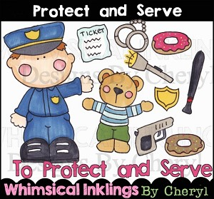 Protect and Serve Clipart Collection