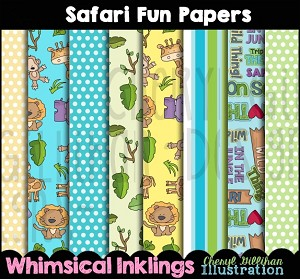 Safari Fun Paper