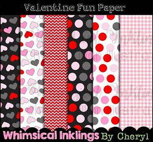 Valentine Fun Papers