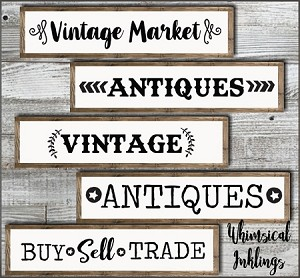 Vintage Market SVG Files