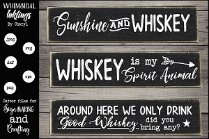 Whiskey SVG Set
