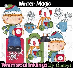 Winter Magic Clipart Collection